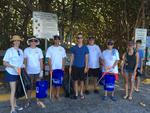 Tuesday Morning: Beach Cleanup
